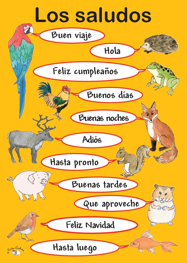 Spanish+Greetings Spanish Greetings