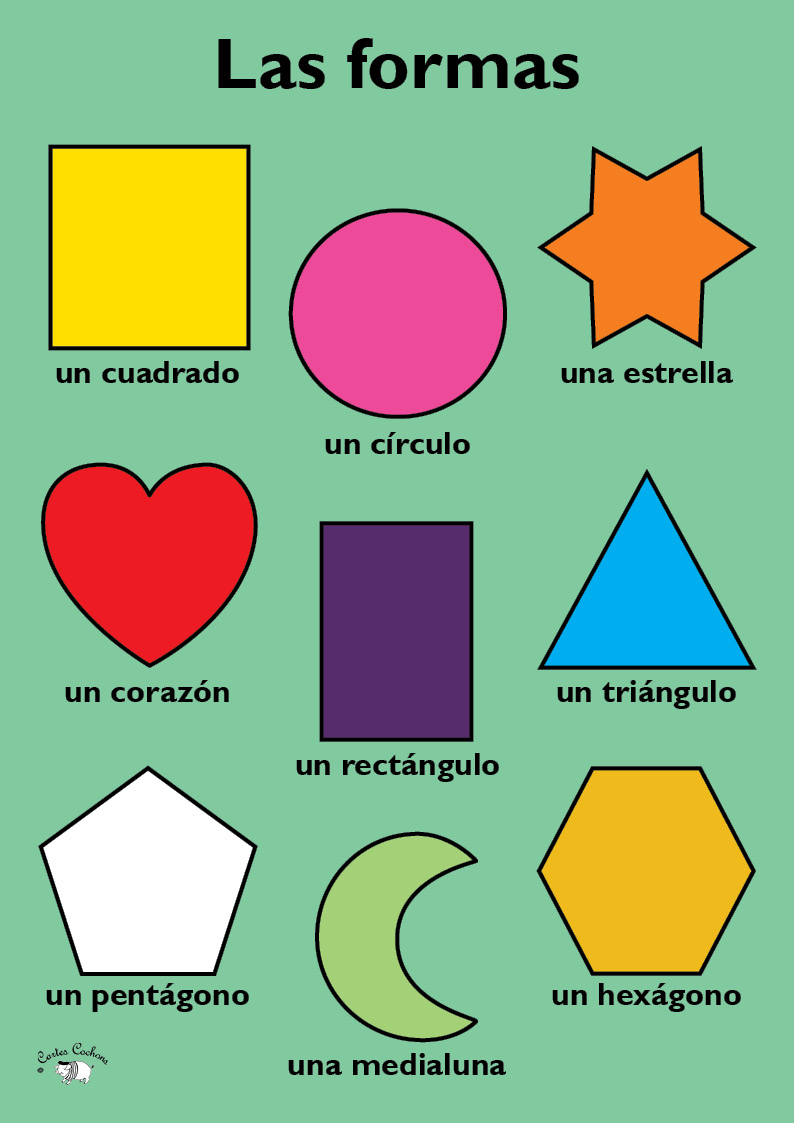 Spanish Shapes Related Keywords & Suggestions - Spanish Shapes Long ...
